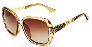 a924ca5044 LECKIRUT Donna Ombra Classico Oversize Polarizzati Occhiali da Sole 100% UV  Protezione