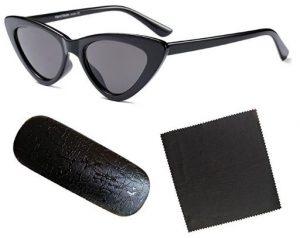 85117641ab Hzjundasi Fashion Mod Chic Super Cat Eye Triangle Occhiali da sole Donna  Vintage Retro Eyewear