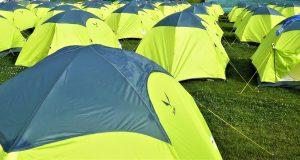 tenda da campeggio