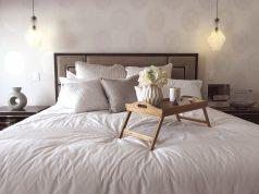 vassoio da letto