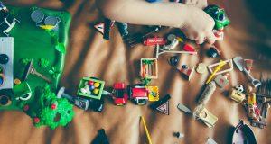 cassapanca per bambini portagiochi