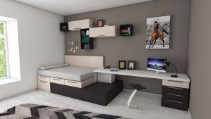 Letto una piazza e mezza: comodità e praticità per la tua camera