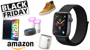 Inizia ora la Black Friday Week di Amazon: è già boom di offerte, super sconti su notebook, Apple Watch, moda ed elettrodomestici