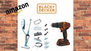 Black+Decker Week: offerte fino al 50% sui migliori accessori per la casa e il fai da te