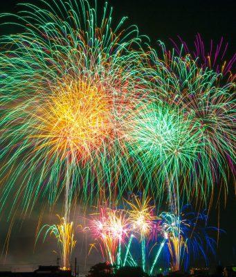 luci led fuochi d'artificio