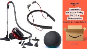 Black Friday Amazon, oltre il 50% di sconto: ecco le migliori offerte di oggi