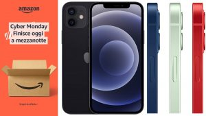 Cyber Monday, iPhone 12 e Apple Watch 6 in offerta su Amazon