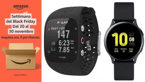 Black Friday, Samsung e Polar: ecco i migliori smartwatch in offerta su Amazon