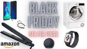 Ultime ore Black Friday: ecco le migliori offerte last minute su Amazon