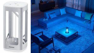 Lampada da tavolo Philips UV-C: disinfettare a basso costo gli ambienti domestici