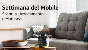 Settimana del Mobile: sconti fino al 50% su arredamento e materassi su Amazon